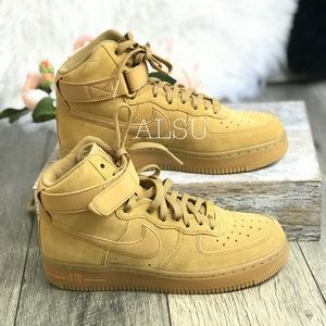 Nike Air Force 1 HI SE Elemental Gold W AUTHENTIC